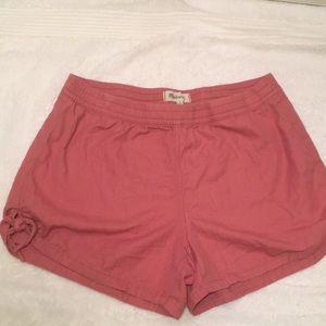 Madewell Elastic Waist Shorts with Side ties. SZ M